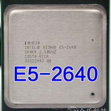 Intel Xeon E5-2640 E5 2640 15M Cache 2,50 GHz 7,20 GT/s Processore CPU E5 2640
