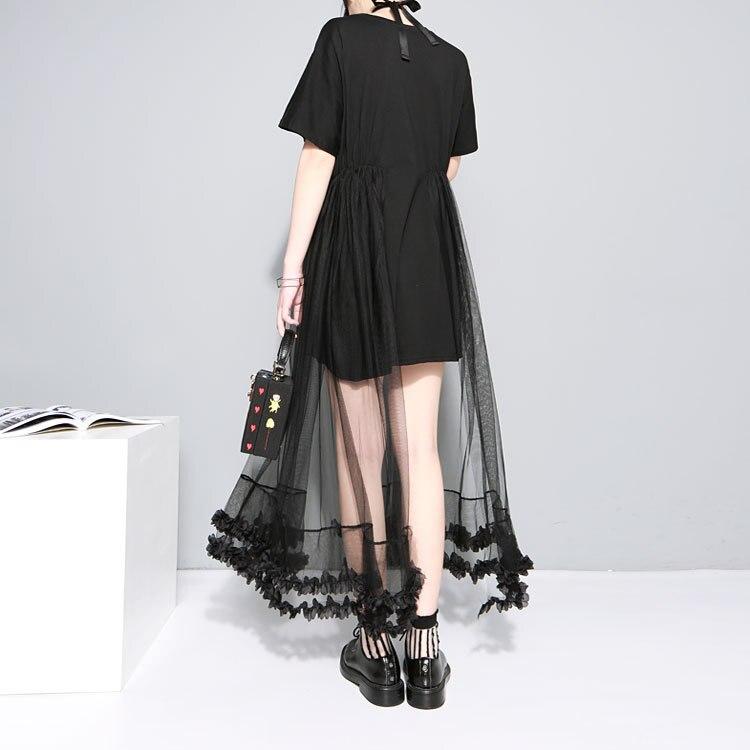 d9bd399da Rihschpiece verão túnica feminina vestido de renda gaze das plus ...