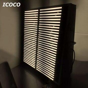 ICOCO 10 Sztuk/zestaw Wysokiej Jakości 1.2m T8 85 V-265 V Przezroczyste Soczewki świetlówka Led Oszczędzania Energii Rury Promocyjna Wyprzedaż Hurtownie Drop Shipping