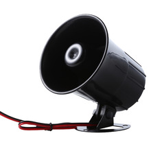 12VDC 15W 110dB Electronic Siren Horn for Car Motorcycle Security System Alarm