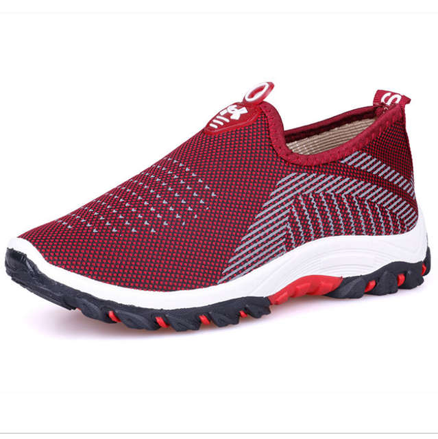 outlet low price sale cheap for discount Fashion Women Platform Sneakers Ladies Casual Mesh Air Loafers Comfort  Women Trainers Luxury Sneakers Female Cotton Mom Shoes
