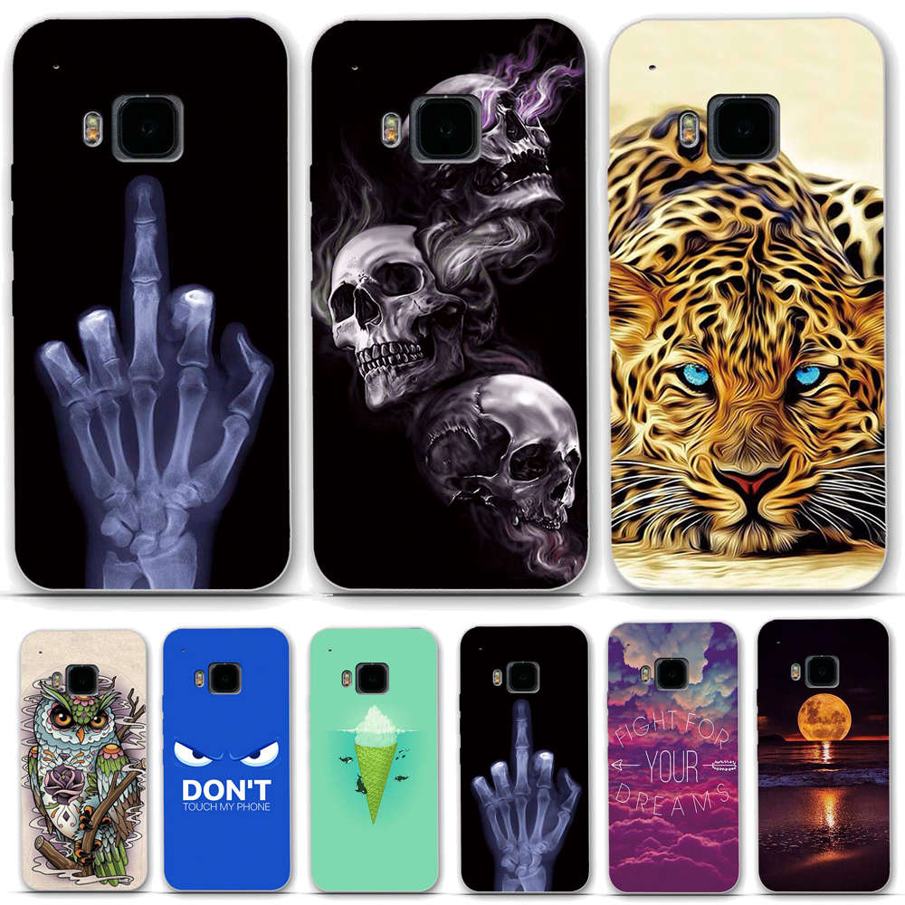 TPU Soft Phone Case for HTC One M9 Case Cover for HTC M9 Case Silicone back Cover for Funda HTC One M9 Phone Case Coque Capa image