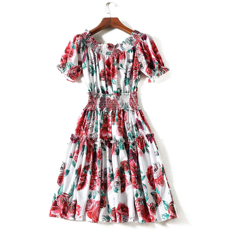 Ld Linda Della Fashion Runway Designer Jumpsuit Womens Long Sleeve Casual Rose Floral Print Loose Elegant Jumpsuit cloak Superior Performance Women's Clothing