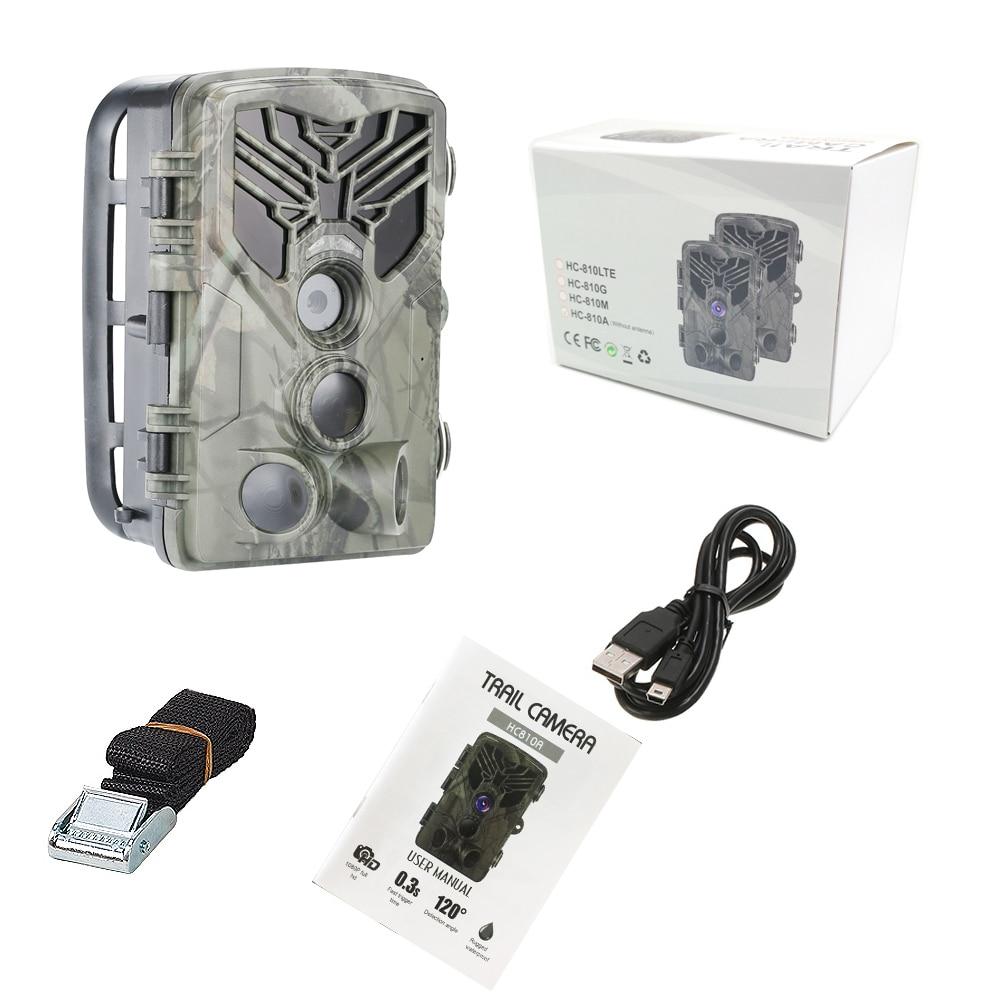 0.3s gatilho wildlife câmera vigilância hc810a