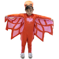 2017New Arrived Hot Selling Child Pj Mask Cosplay Costume Second Skin Spandex Tight Suit Halloween Masquerade