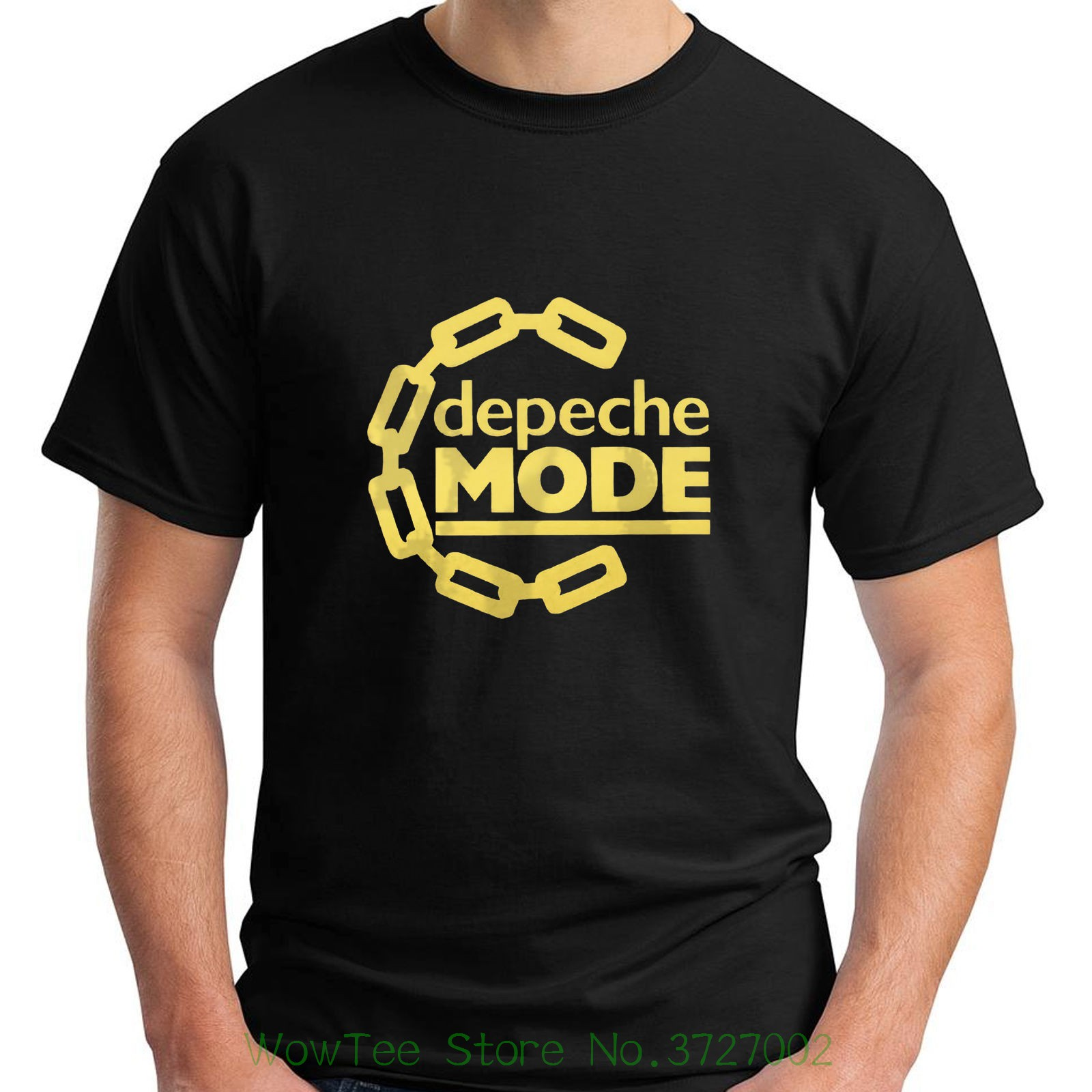 New Depeche Mode Electronic Pop Rock Band Short Sleeve Black Mens T-shirt S - 5xl T-shirt Men Short Sleeve Tshirt