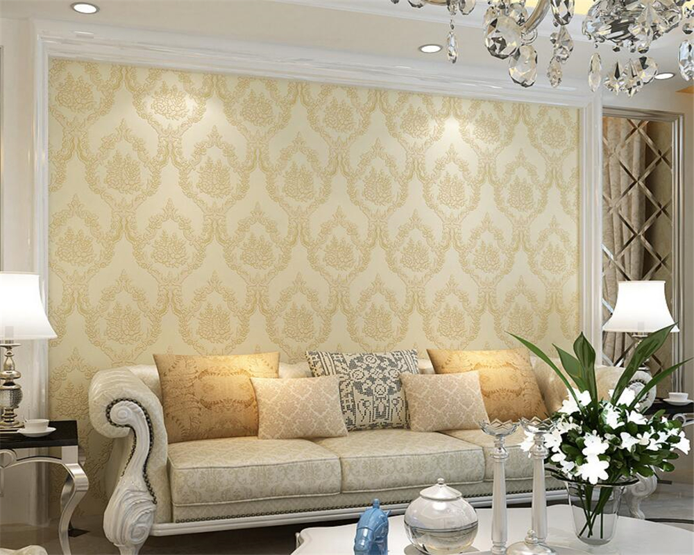 ФОТО Beibehang wallpaper for walls 3 d European relief Damascus wallpapers background of luxurious sitting room the bedroom wallpaper