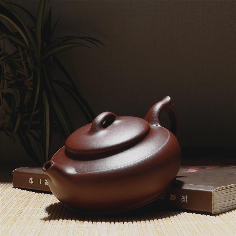 230 ml Fabrik Direkt Chinesischen Kung Fu Zisha Teekanne Echtes Yixing Lila Ton teekanne Geschenk Box Paket Verschiffen Frei - 3