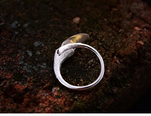 Calla Lily Handmade Flower Ring3