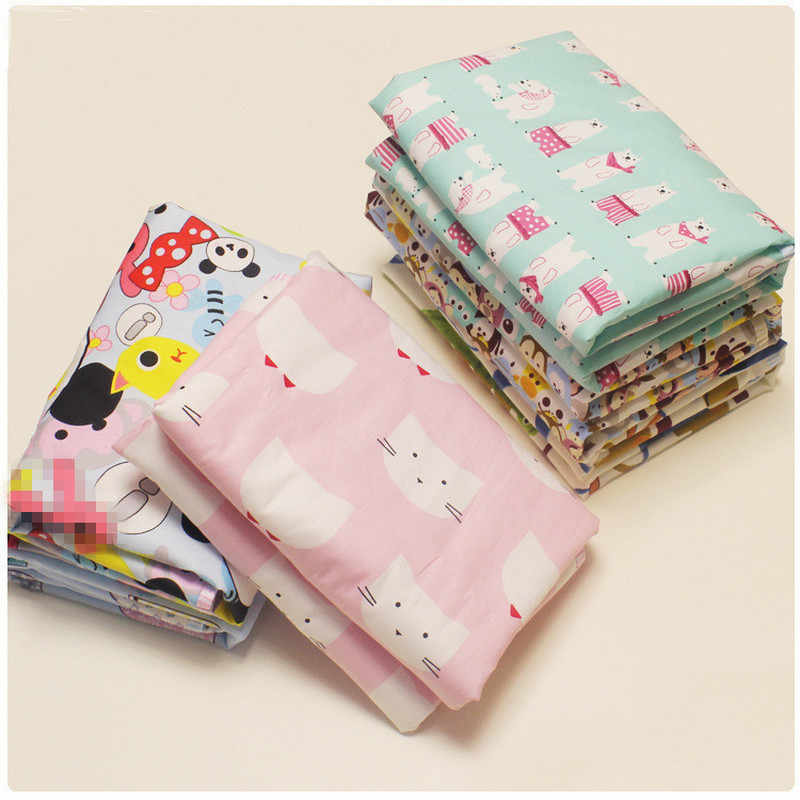 1PC Unicorn Animal Baby Reusable Mattress Waterproof Diapering Changing Pads Cotton Washable Newborn Mattress Baby Changing Mat