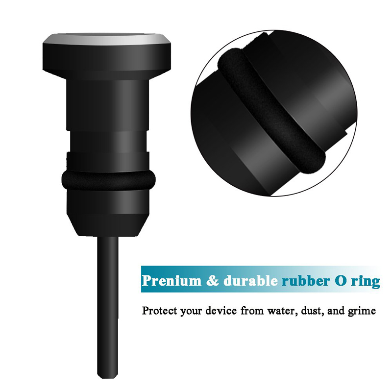 HTB150iIMxTpK1RjSZFKq6y2wXXaU 1Set Metal Dust Plug Phone Accessories Micro Charging Port + 3.5mm Earphone jack Plug For Android Samsung Xiaomi LG Cellphone