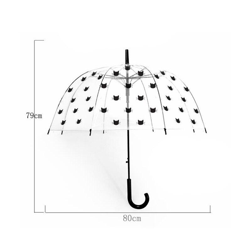 Safebet alpaca guarda-chuva crianças transparente guarda-chuvas unicórnio
