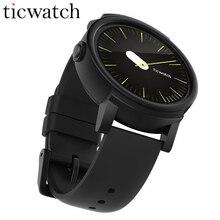 Дешевые Оригинальный Ticwatch E Тень Смарт-часы Android Wear MT2601 Dual Core Bluetooth 4,1 WI-FI gps Smartwatch телефон IP67 Водонепроницаемый
