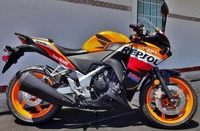 Литье под давлением ABS Пластик мотоцикл Кузов обтекатель комплект для Honda CBR250R CBR250RR CBR250 2011 2012 2013 2014 2015 CBR 250