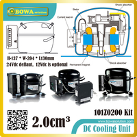 DC Compressor Specially Designed For Refrigeration In Boat Applications Enables It To Resist Vibrations And Hard