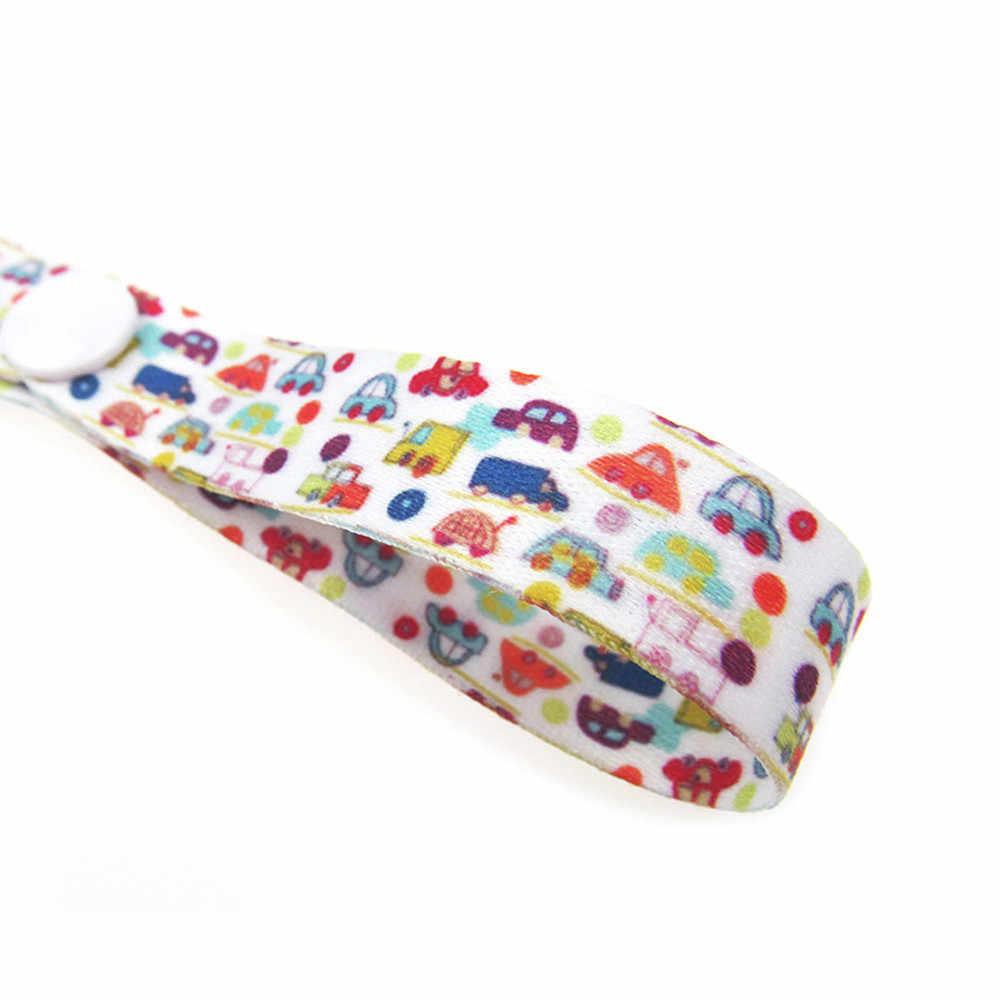 Inant הדפסת שרשרת מוצץ יילוד תינוק בני בנות נגד ירידה קולב חגורת בעל פעוט צעצועי עגלת רצועת רכב מוצץ שרשרת