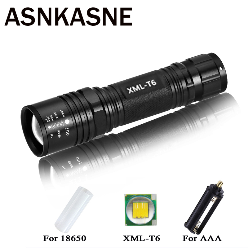 NEW Super Bright 3800 LM CREE T6 Powerful LED Flashlight Outdoor 5 Mode Zoomable Waterproof Lamp Torch light for 18650 or AAA детский комплект luxberry sweet life простыня без резинки