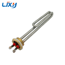 LJXH Stainless Steel Electrical Heating Element Booster Tube For Water Boiler ,1/DN25/32mm, AC110V/20V/380V, 1KW/2KW/3KW/4KW цена