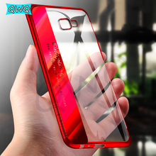 Plating shining cases for Samsung Galaxy A5 A7 J5 J7 2017 2016 Ultra thin soft TPU Case For Samsung A5 J5 2017 Silicon Cover