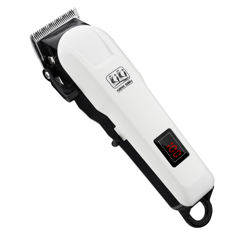 KIKI 2018  rechargeable hair clippper Professional Hair cutter Hair Trimmer  Lithium battery NG-777/NG-888 with Lcd display