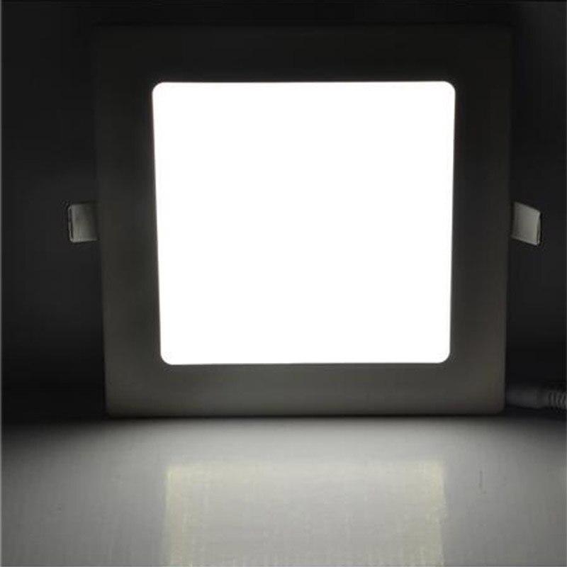 Luzes do Painel de Led praça painel de led downlight Color : White