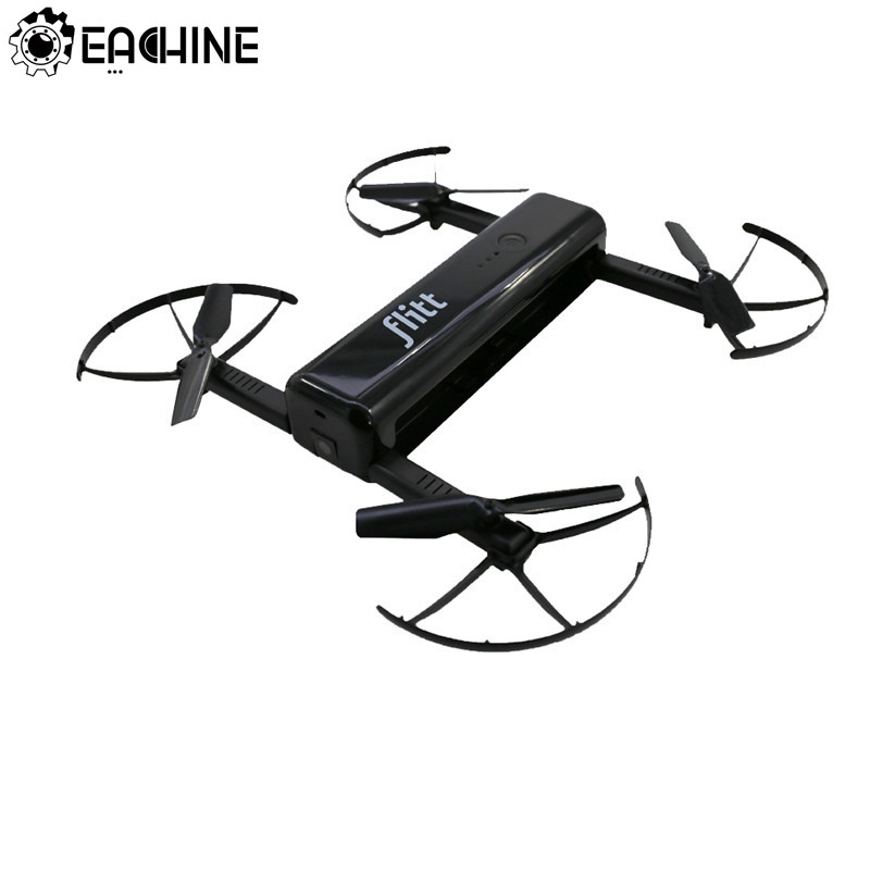 Eachine Flitt 720P WIFI FPV Optical Flow Positioning Foldable Pocket Portable RC Drone QuadcopterRC Helicopters