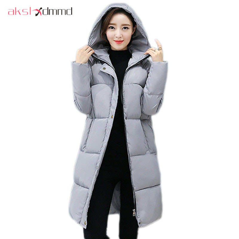 AKSLXDMMD Parkas Winter Jacket Women Mujers 2017 New Thick Padded Cotton Coat Cusaul Student casacos femininos LH968 qazxsw new winter cotton coat hooded padded women parkas mujer invierno 2017 winter jacket women warm casacos femininos hb221