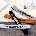 Fashion sports men and women letters with high elastic hair band popular running bodybuilding guide sweatband headband