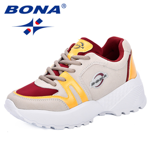 BONA Women Platform Shoes Popu