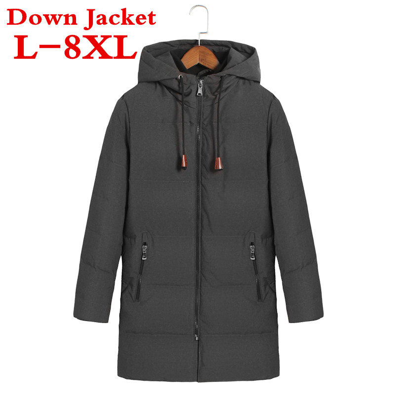 2017 new plus size Thick winter down jacket men warm New Fashion brand clothing Top quality Long Male 90% White duck down free shipping winter parkas men jacket new 2017 thick warm loose brand original male plus size m 5xl coats 80hfx