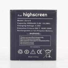 Batería del teléfono Para highscereen Zera S Rev. S Para Reemplazar la batería