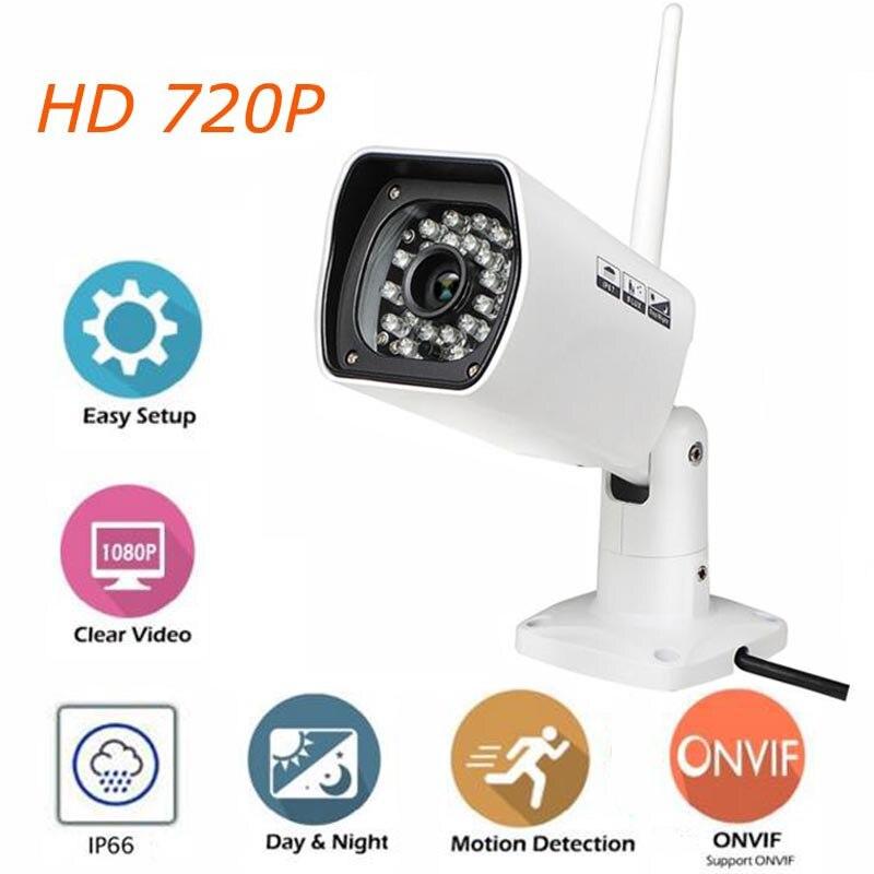 ФОТО 720P HD IP Camera Outdoor WiFi CCTV Camera 1.0Mega ONVIF Waterproof IP Video Surveillance Camera build-in 8G SD Card