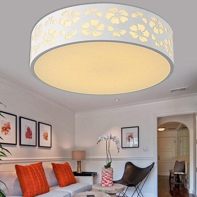 Einfache Runde Led deckenleuchte schlafzimmer lampe kinderzimmer LED kleine  lichtkuppel rund fernbedienung licht ZA ET86