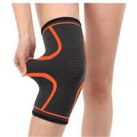 1 Pcs Vôlei Basquete Aptidão Ciclismo Knee Pad Suporte Proteger Manga Nylon Esporte Suspensórios de Segurança Respirável Elásticas Compressa