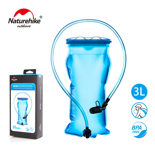 Naturehike Outdoor Hydration Bladder Water Bag for Camping Running Cycling Riding 1.5L 2L 3L