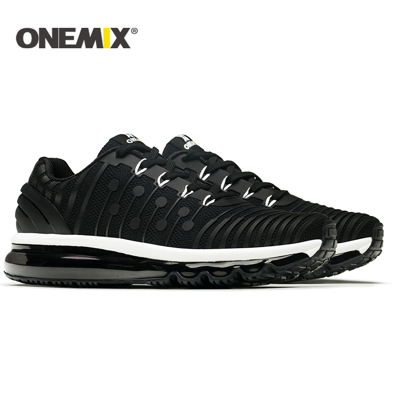 ONEMIX 2018 NEW men running shoes Air cushion running shoes men Breathable Runner mens athletic shoes Sneakers for men-in Running Shoes from Sports & Entertainment    2