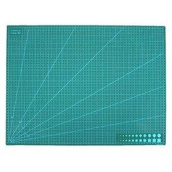 A2 pcv nadruk z dwóch stron mata do cięcia samogojąca Mat Craft pikowanie scrapbooking pokładzie 60x45 Cm tkanina patchworkowa prace ręczne z papieru narzędzia w Maszyny EDM od Narzędzia na