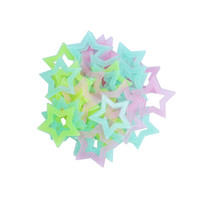 Keythemelife 40pcs/lot 4.6cm Star Glow Wall Stickers Room Decal for Baby Kids Bedroom Home Luminous Fluorescent C4