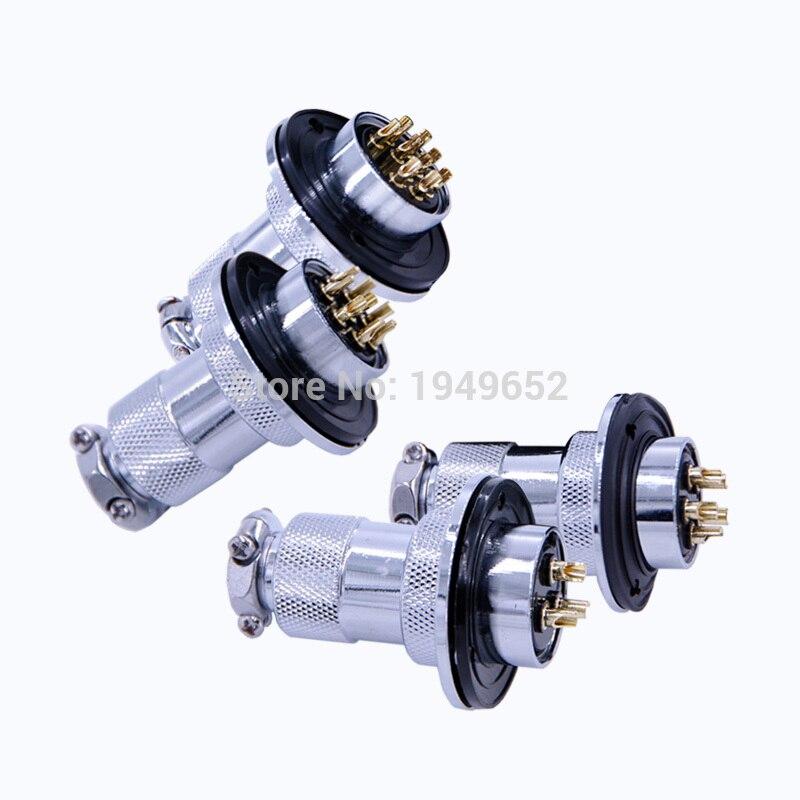 Aviation Connector Diam25mm GX25F Push-pull Circular Quick Connector 2pin3pin4pin5pin6pin7pin8pin9pin10pin12pin Male-Female Plug