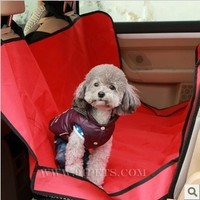 Cat's house Pet Dog Car Rear Bench Back Seat Cover Mat waterproof Hammock style and Back Cover for pet products dog accessories