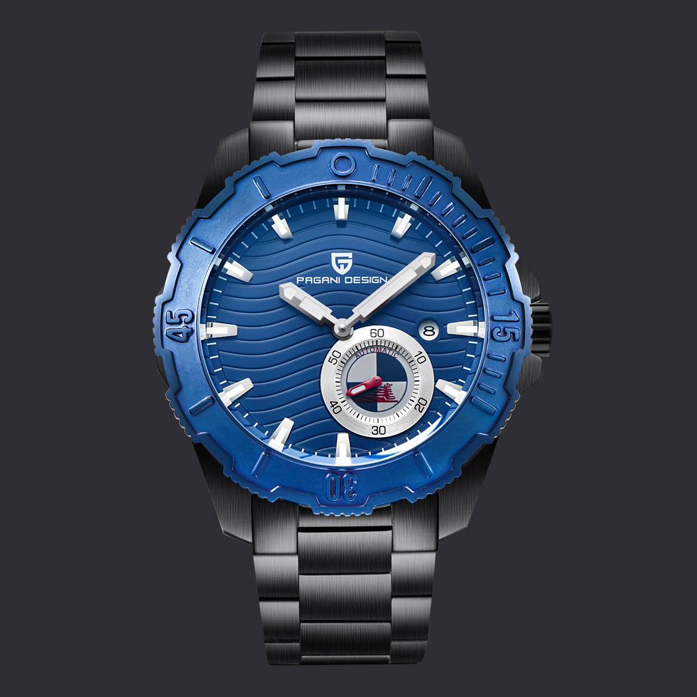 PAGANI DESIGN Luxury Brand Men Watches Business Stainless Steel Waterproof Sport Watch Chronograph Quartz Wristwatch diving pagani design top luxury brand watches mens stainless steel band fashion business quartz watch wristwatch male