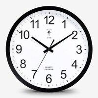 Blue Home Wall Clock Simple Round Digital Silent Digital Wall Clock Modern Design Relogio De Parede Decorativo Home Watch 40C011