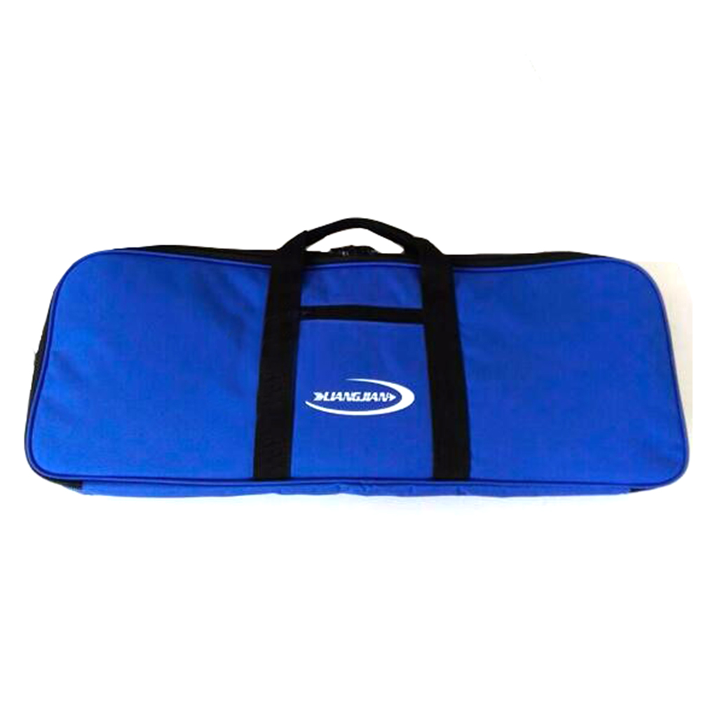 1pc Blue Recurve Bow Bag 66*24*6 cm Waterproof and PVC Coating for Recurve Bow Inner Soft Plush Fabric Blue Bow Bag