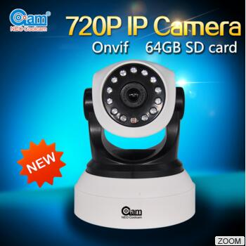 ФОТО Newest Wifi P2P Ip camera ptz free mobile video wireless IP with night version