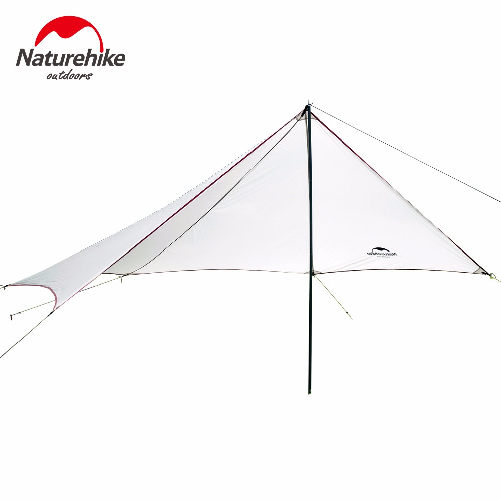 Naturehike Camping Awning Outdoor Beach Tent Fishing Hiking Sun Shelter waterproof travel hiking Awning large size Sunshade outdoor summer tent gazebo beach tent sun shelter uv protect fully automatic quick open pop up awning fishing tent big size