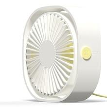 360 Degreen Rotation USB Desk Fan Electric Desktop Computer Fan Desktop Cooling Fan Cooler Plastic Air Conditioning