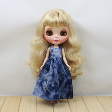 Neo Blythe Doll Retro Spring Flowers Dress