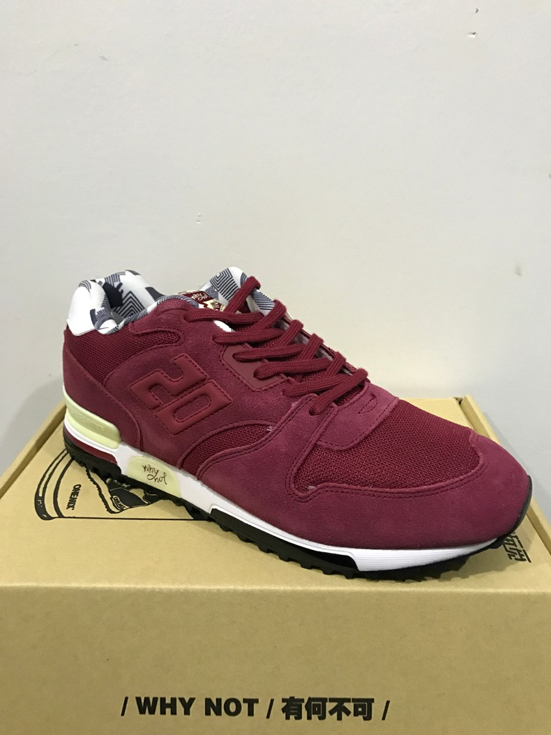 ONEMIX Men Retro 750 Running Shoes Rubber Leather Sport Women Trainers Sneakers Breathable Female Walking Jogging Shoes EU 36-44 35