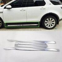 Авто интимные аксессуары боковая дверь литье крышка 4 шт. автомобиля салонные аксессуары для Land Rover Discovery Sport 2017