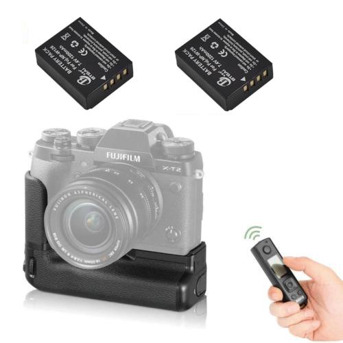 JinTu MK XT2 Pro Battery Grip IR Remote 2x NP W126 for Fuji Fujifilm X T2